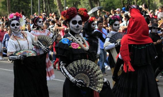 la ruta y horario del desfile de dia de muertos en la cdmx 7
