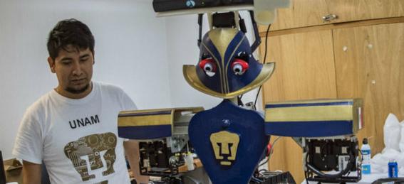 estudiantes unam ganan primer lugar concurso robotica 2
