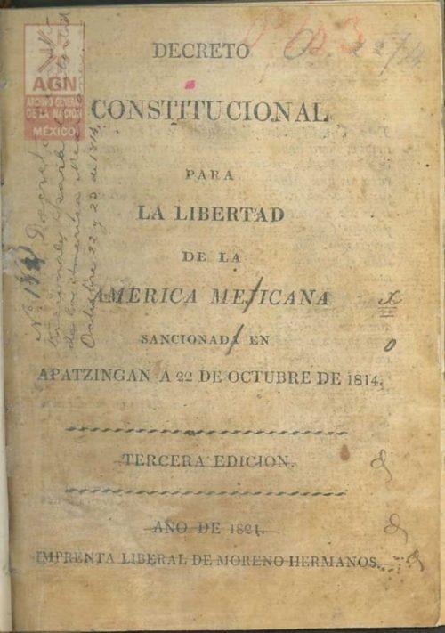 promulgacion de la constitucion de apatzingan de 1814 2