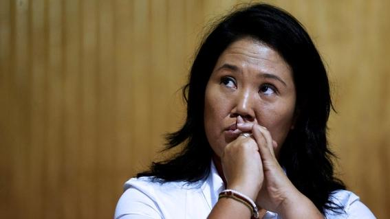 autoridades peru detienen a keiko fujimori por lavado de dinero 2