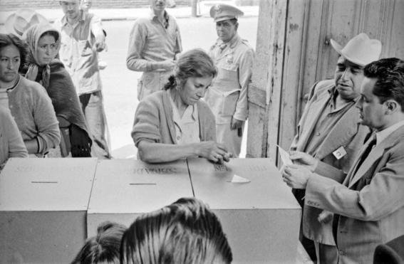 17 de octubre de 1953 mujer mexicana adquiere derecho al voto 1