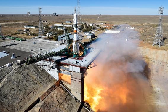 cohete soyuz realiza aterrizaje de emergencia tras despegue fallido 1