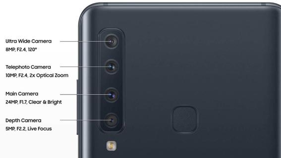 samsung galaxy a9 celular con cinco camaras 3