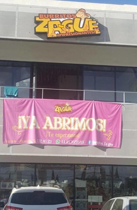 restaurante lanza a la venta burritos inspirados en zague 2