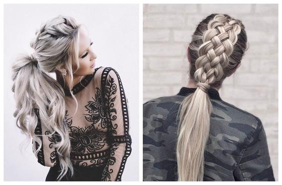 peinados faciles para cabello largo 9