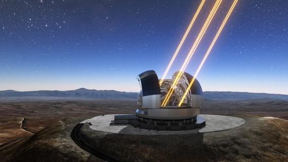 telescopio extremadamente grande en chile 1