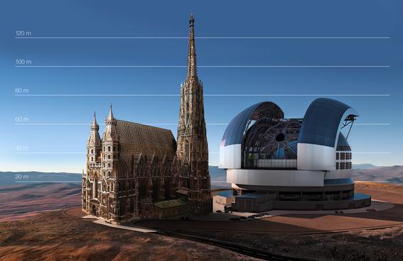 telescopio extremadamente grande en chile 2