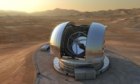 telescopio extremadamente grande en chile 4