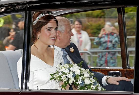 princesa eugenie de york boda real con jack brooksbank 2