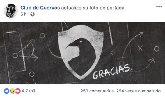 club de cuervos da las gracias 3