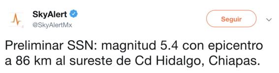 registra sismo 5 grados richter en chiapas 1