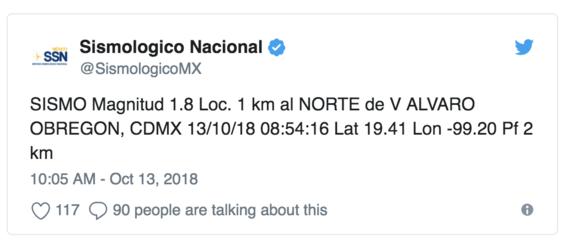 se registra sismo en la cdmx con epicentro en alvaro obregon 2