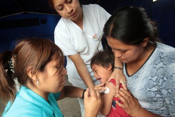 aplicaran mas de 700 mil vacunas en tercera semana nacional de salud 2