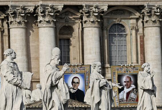 papa francisco declara santos pablo sexto y arnulfo romero 2