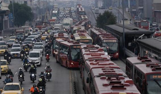 bogota la ciudad con mas trafico en america latina 1