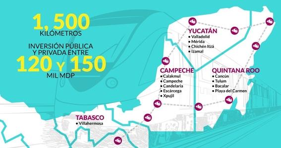 que ayudaria proyecto tren maya amlo a region 4