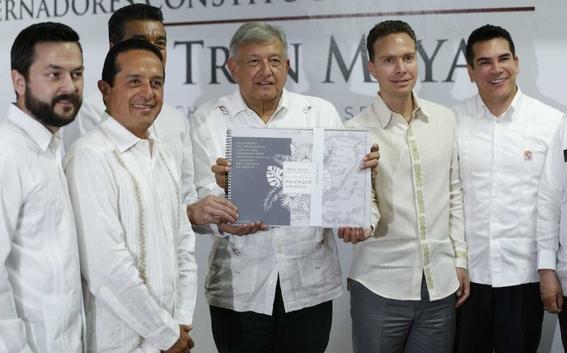 que ayudaria proyecto tren maya amlo a region 3