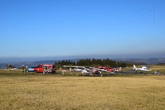 accidente aereo en alemania deja tres muertos y heridos 1