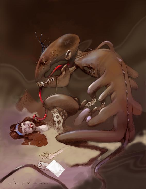 la historia detras del cuento lucy y el monstruo 1