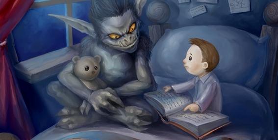 la historia detras del cuento lucy y el monstruo 2