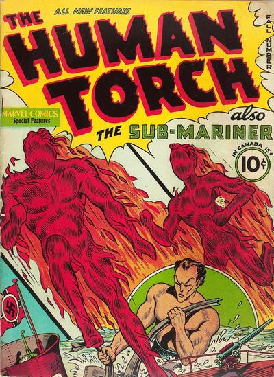 quienes fueron los primeros superheroes de marvel comics 1