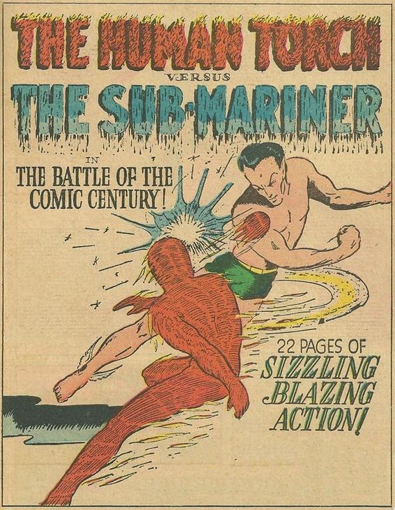quienes fueron los primeros superheroes de marvel comics 5