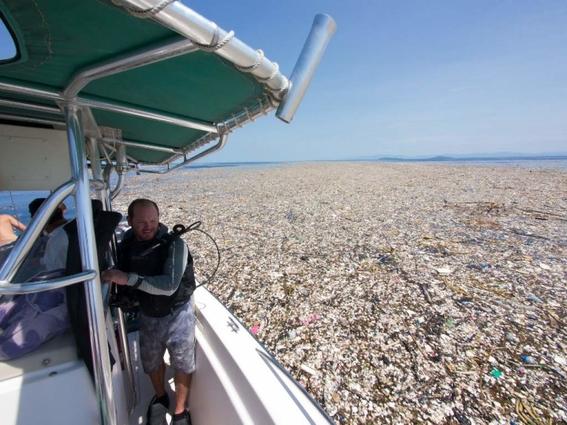 sodastream maquina lucha contra isla de basura en el caribe 1