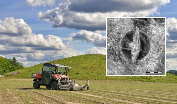descubren barco vikingo enterrado bajo cementerio noruego 3