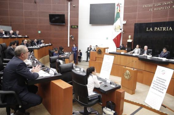 ruiz esparza comparece senadores situacion del naicm 1