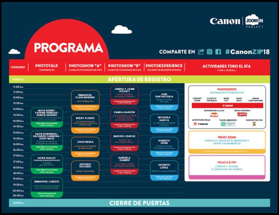 que es el festival canon zoom in project 7