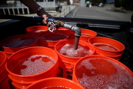 corte en el suministro de agua 1
