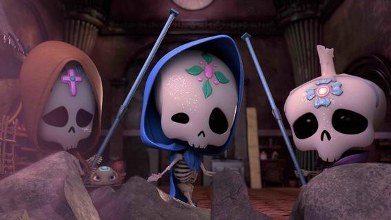 discovery kids estrena sugar skulls serie hecha en mexico 1