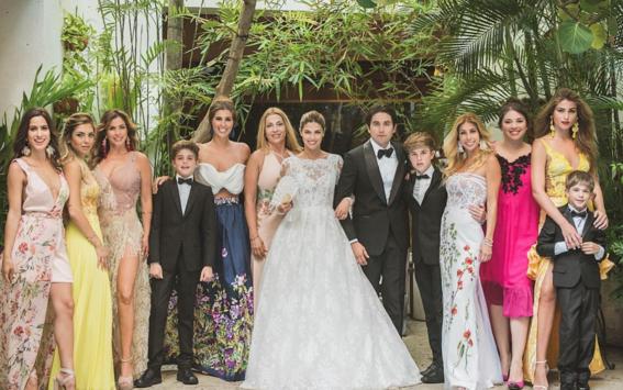 fotos de la boda de stephanie cayo de club de cuervos 2
