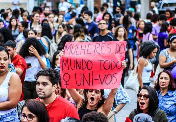 porque las mujeres en brasil protestan contra la ultraderecha 1