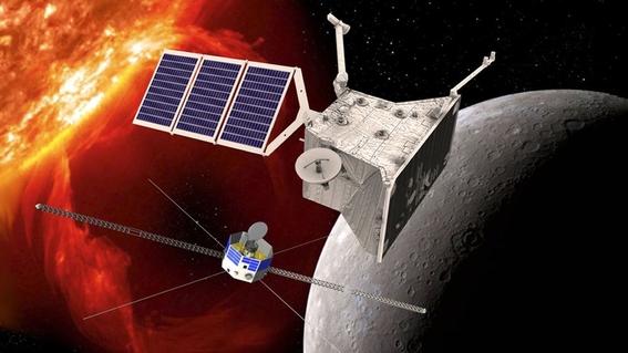 lanzaran nave bepicolombo para explorar mercurio 3