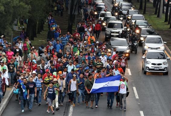 caravana migrante mexico 1