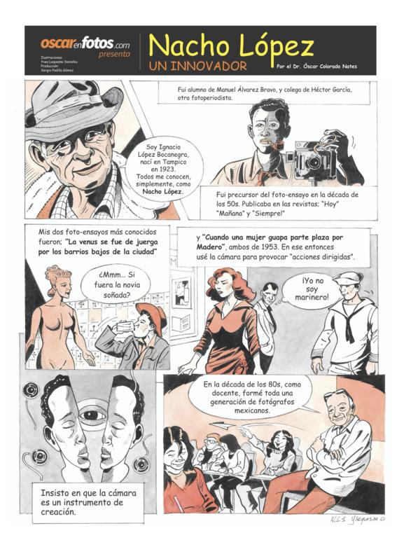 camman el primer comic sobre fotografia 2