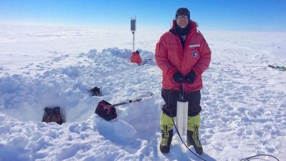 captan siniestro sonido de la barrera de hielo en la antartida 1