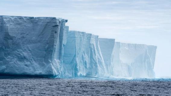 captan siniestro sonido de la barrera de hielo en la antartida 2