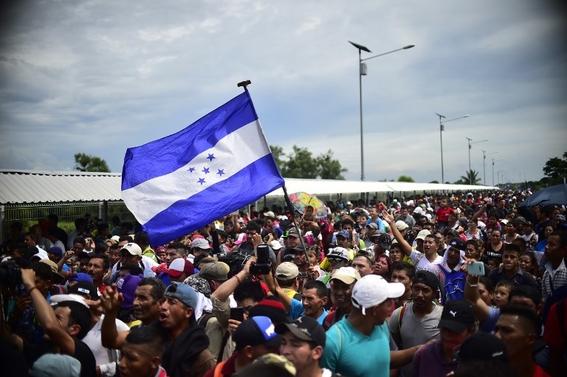 imagenes entrada miles de migrantes a mexico 7