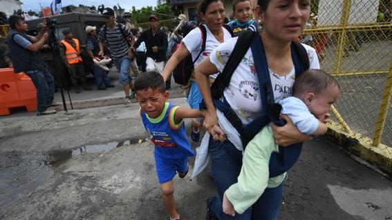 caravana migrante y presidentes 1