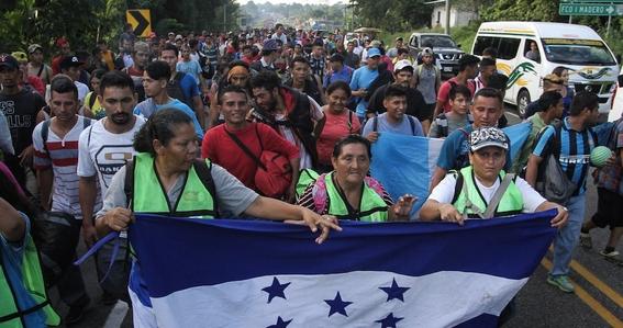 avanza caravana migrante 2