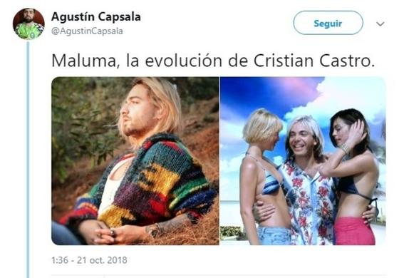 maluma se pinta el cabello de rubio y lo comparan con kurt cobain 9