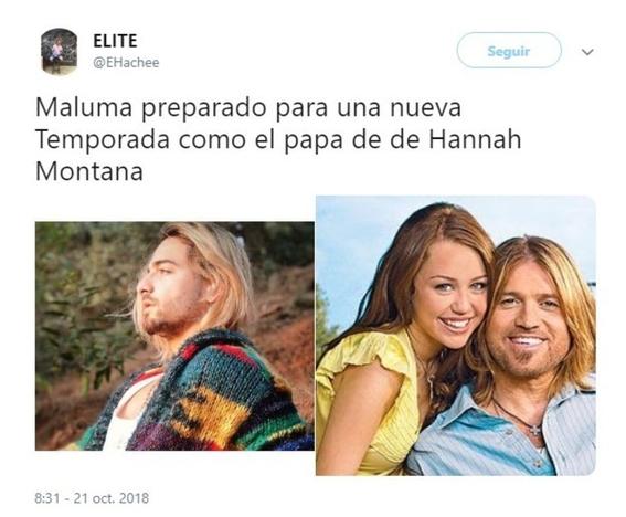 maluma se pinta el cabello de rubio y lo comparan con kurt cobain 10