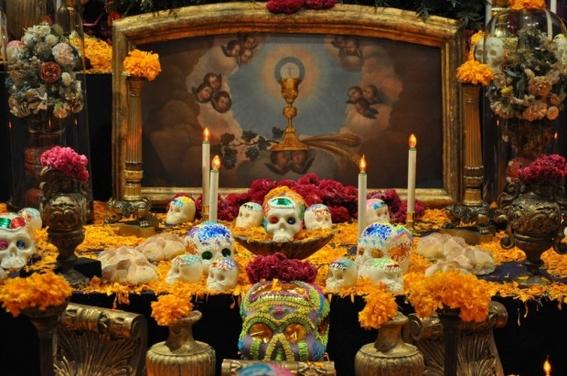 los siete elementos del altar de muertos prehispanico y su significado 3