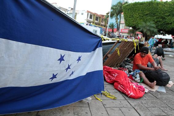 caravana migrante sale de tapachula 2