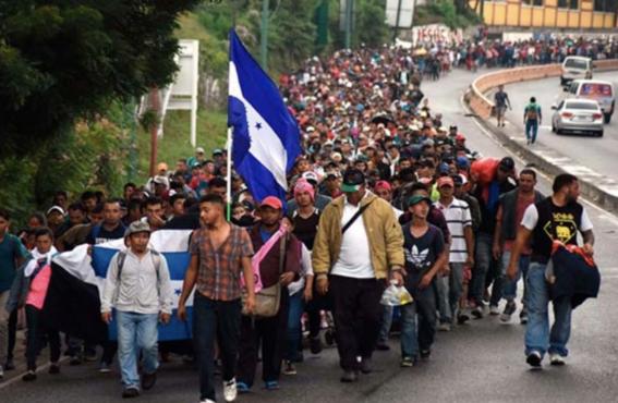 migrante caravana muere al caer de camioneta en chiapas 1