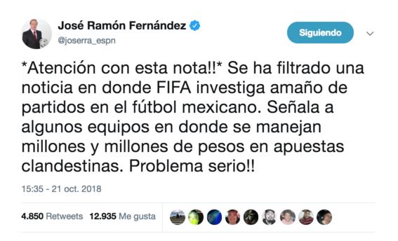 federacion mexicana de futbol niega version sobre partidos amanados en liga mx 1