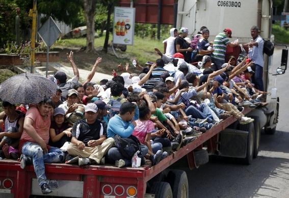 37 por ciento de mexicanos no quiere migrantes 2