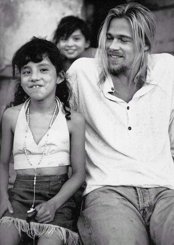 brad pitt sesion fotografica en mexico 1994 6